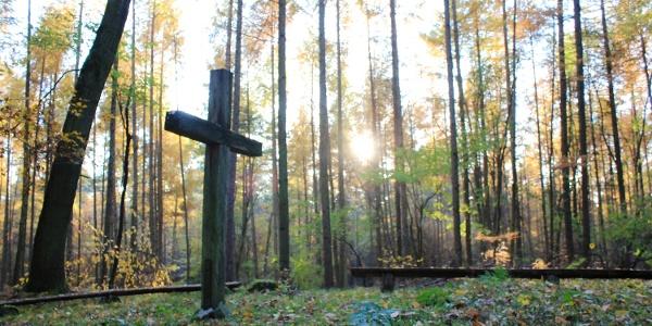 Beatenkreuz im Thümmlitzwald