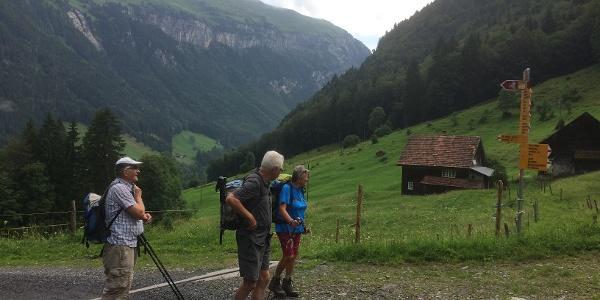 Am Start für die zweite Etappe des Urner Alpenkranz'