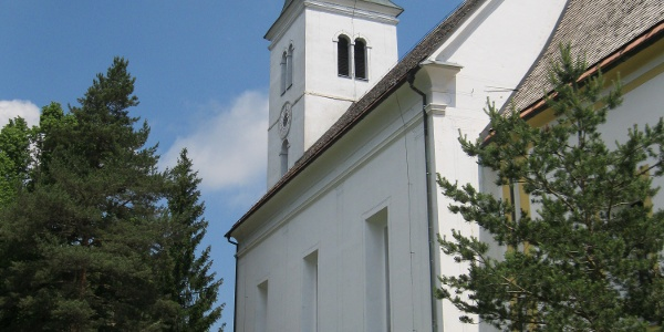 """Wallfahrtskirche """"Heiligen Geist am Osterberg"""" (Sv. Duh na Ostrem vrhu)"""