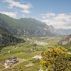 """The Sarca Valley, view from the """"Schoolteacher's Trail"""""""
