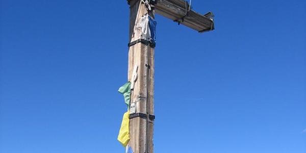 Gipfelkreuz Hochfeiler 3510 m