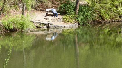 Am Biotop Eichensee