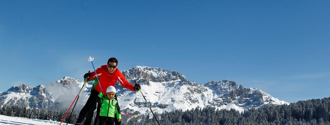 Langlaufen im Val di Fiemme