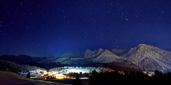 Nachtloipe. Foto Nina Mattli