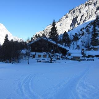 Wimbachgrieshütte im Winter