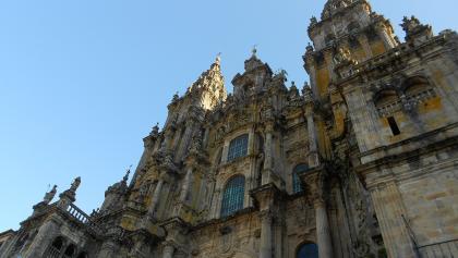 Südportal der Kathedrale Santiago de Compostela