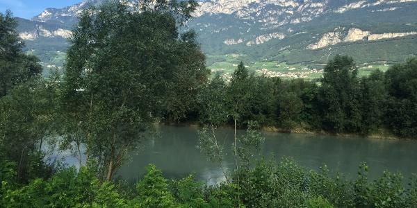 Blick Richtung Brenta