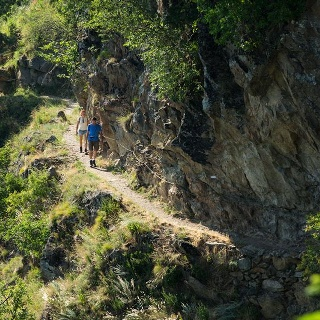 Unterer Felsenweg - Rifugio Hochmuter