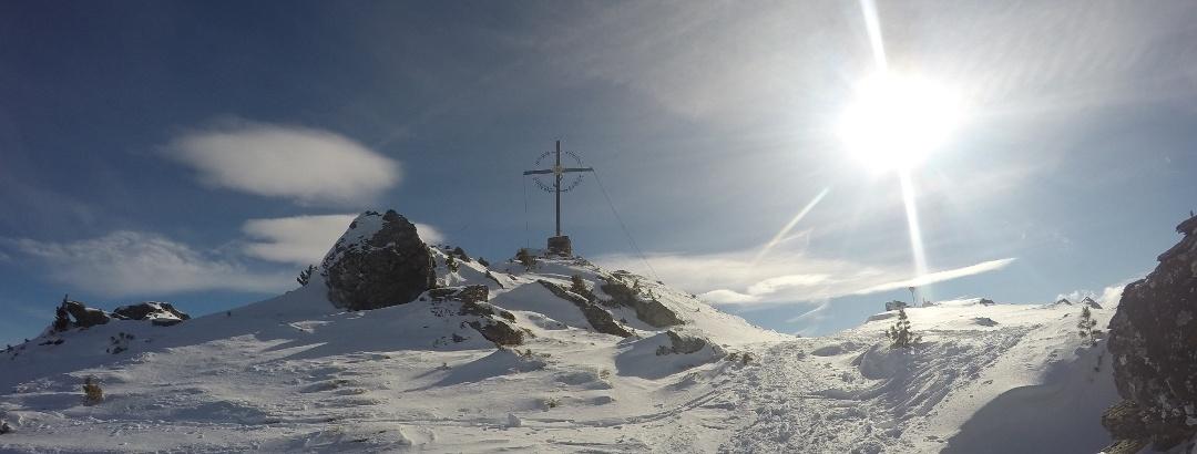kurz vor dem Gipfel