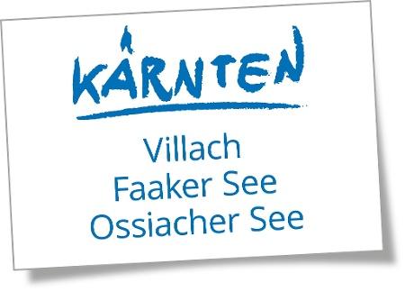 Logo Region Villach - Faaker See - Ossiacher See
