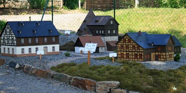 Miniaturbergbaulandschaft
