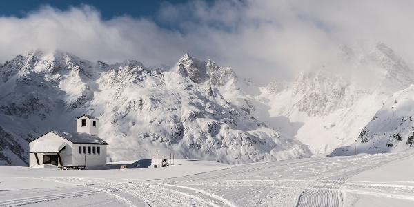 Barbara Kapelle auf der Silvretta-Bielerhöhe