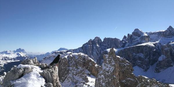 View on the Sella Group from the For. Cir