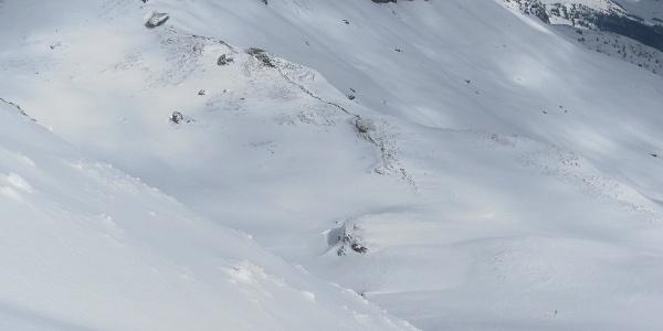Triestkogel aus der Steilstufe