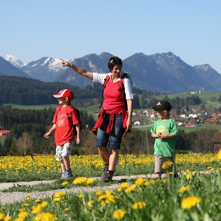 Wandern in Hopferau