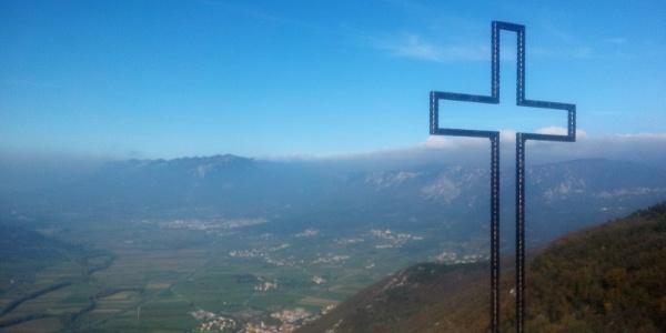 On Nanos above Vipava!! Last peak