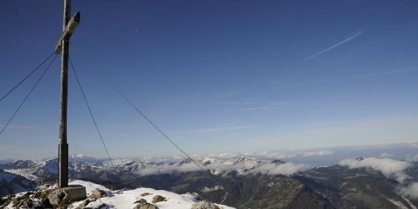 Gipfel der Kanisfluh