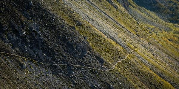 Trail beim Welschtobel Lenzerheide