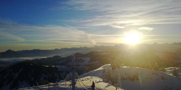 Sicht vom Gipfel