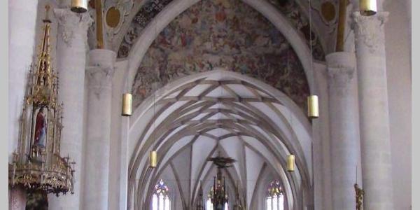 """Prunkvolle Kirche """"Zur lieben Frau im Moos"""""""