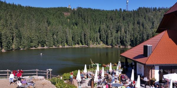 Biergarten am Mummelsee