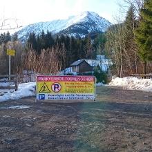 Parkverbot für Skitourengänger