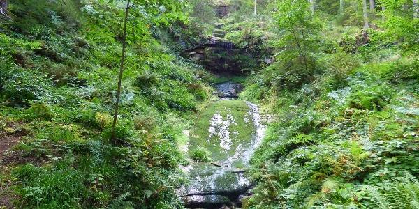 Rosshimmel-Wasserfall