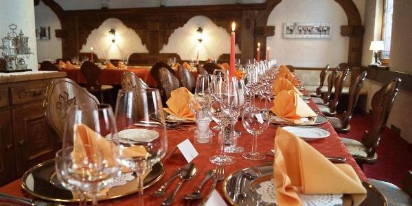 Restaurant Castell innen