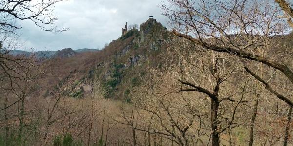 Ruine Burg Are über Altenahr