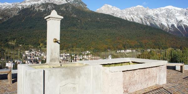 Andalo - Blick von der Kirche