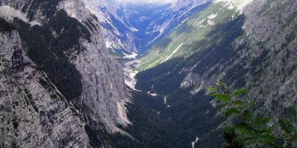 Blick ins Reintal (07.08.2012)