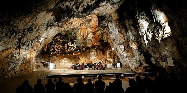 A Baradla-barlang hangversenyterme