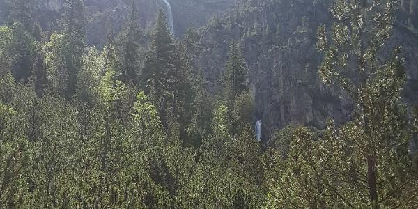 Die Alteinwasserfälle aus der ferne
