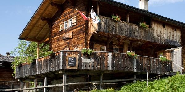 Das malerische Restaurant Alpenrose