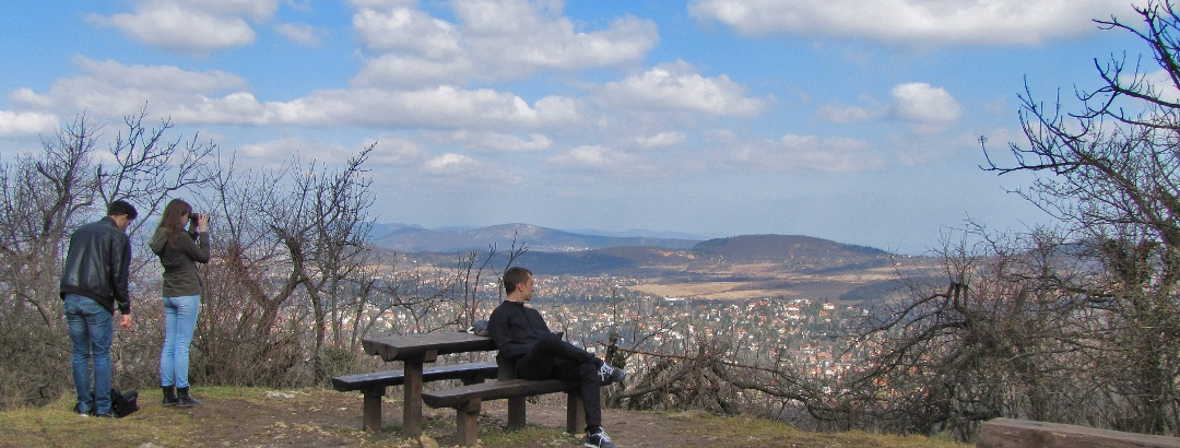 Aussichtspunkt auf dem Nagy-Hárs-Berg