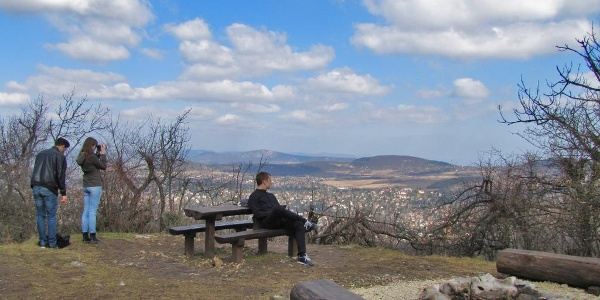 A viewpoint on Nagy-Hárs-hegy