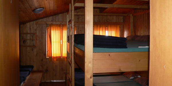 Matratzenlager der Gießener Hütte
