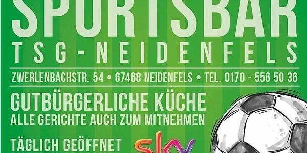 Sportsbar TSG Neidenfels-Flyer