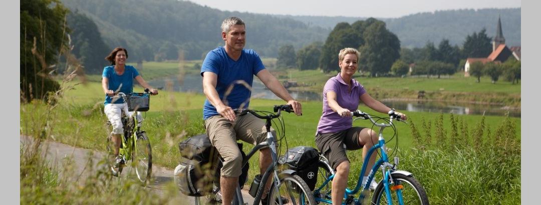 Radfahren im Weserbergland