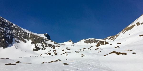 Die weitläufige Schmalzgrube bietet jede Menge Platz zum Skifahren