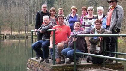 Die heute aktiven Wanderer der OG Insheim PWV
