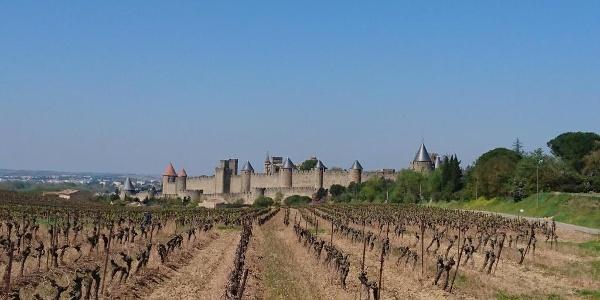Approaching Carcassonne again