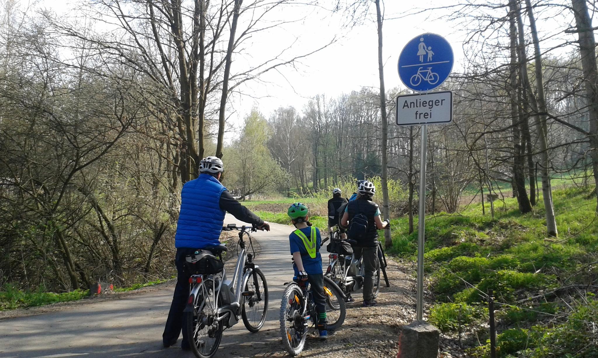 Chemnitztalradweg Oneway Chemnitz Markersdorf Radtour