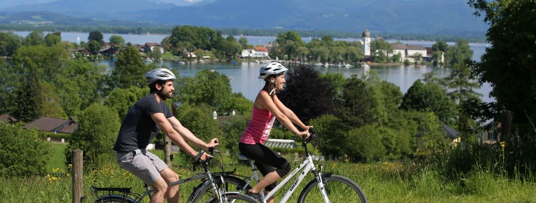 Radfahren im Chiemsee-Alpenland