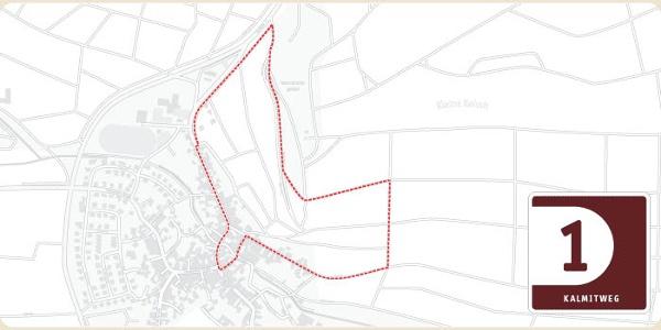 Karte Kleiner Kalmitweg