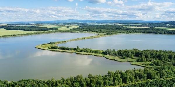 Luftbild Heerter See