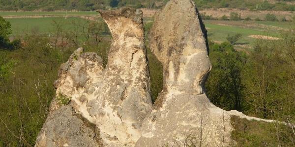 Barát és Apáca szikla