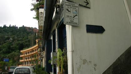 Abzweig nach Taormina