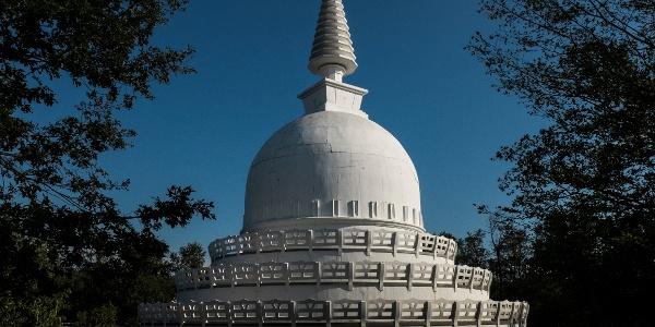 Budhistická budova v Zalaszántó