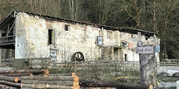 Die alte Gipsmühle Schwangau
